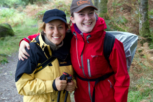 West Highland Way Schottland Maria und Theresa