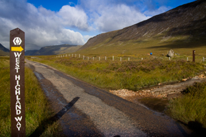 West Highland Way Schottland bei Kings House Hotel