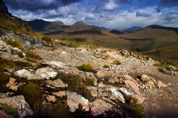 West Highland Way Schottland Devils Staircase
