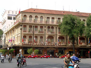 Hotel Continental in Saigon, Vietnam